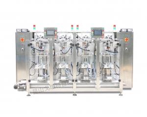多列立式包装机 小型冲剂颗粒自动包装机